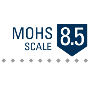 MOHS scale hardness rating for black zirconium wedding bands