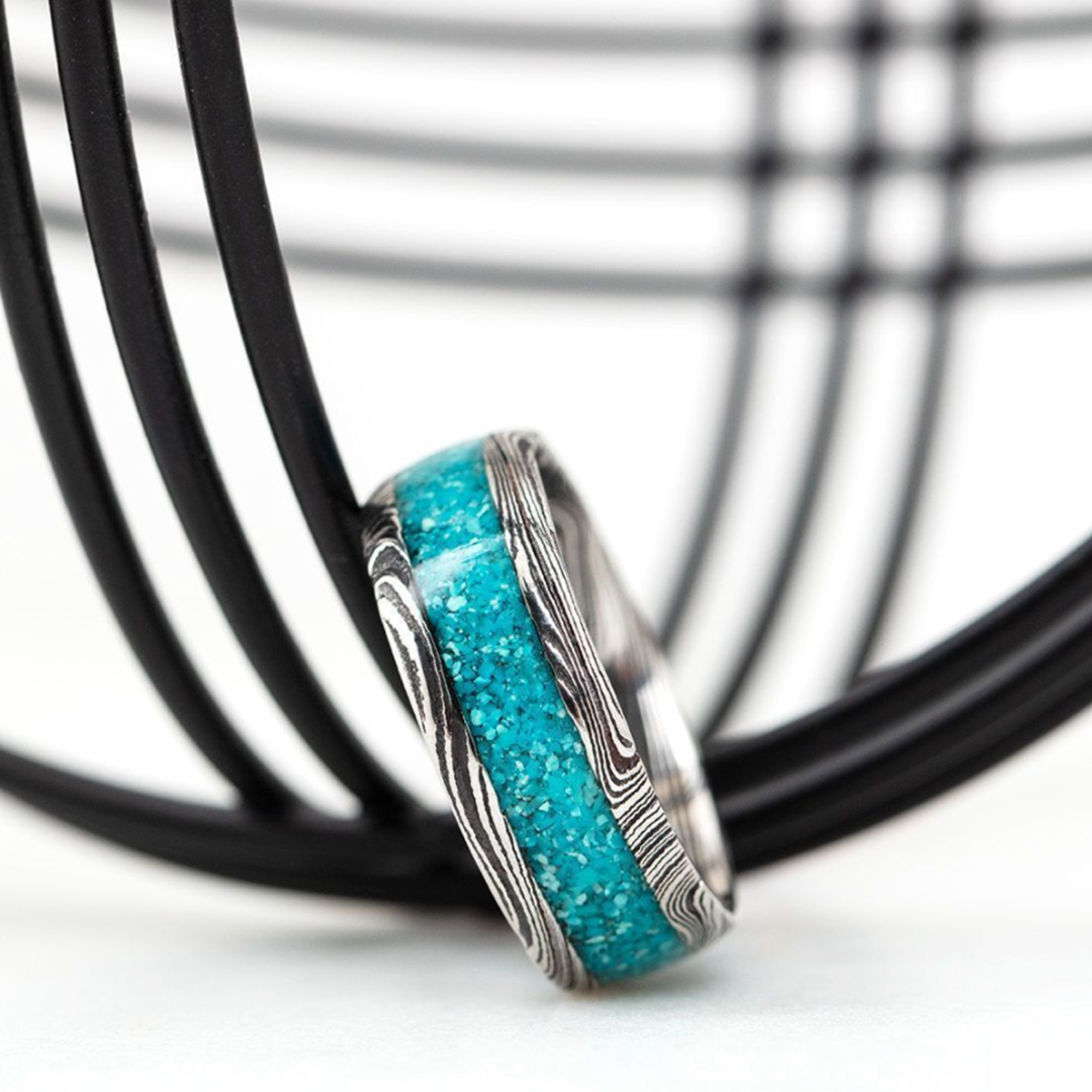 Damascus and Turquoise